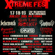 Xtreme fest 2015 : BLACK LABEL SOCIETY / BEHEMOTH / ENSIFERUM / CANNIBAL CORPSE / SATANIC SURFERS / THE EXPLOITED / M.OD. / TERROR / 7SECONDS / STRUNG OUT / IRON REAGAN / COMEBACK KID / BURNING HEADS / BLACK BOMB A / CARNIFEX / D.R.I. / GET DEAD / TOXIC HOLOCAUST / PSYKUP / OPIUM DU PEUPLE / COBRA / TOUNDRA / STICKY BOYS / RISE OF THE NORTHSTAR / BIRDS IN ROW / STICKY BOYS / ADRENALIZED / SEVEN WEEKS / FORUS / INFEST / OLDSKULL / SUPREMACY / TA GUEULE / EVILNESS / BLACK MARCH / X-OR / RIFF TANEN...